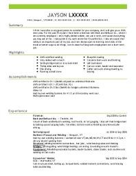 Iron Worker Sample Resume Ironworker Resume