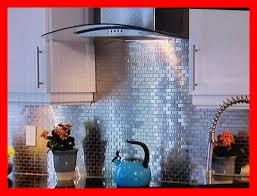 shocking metal mosaic tile in shower white l and stick backsplash image of kitchen menards trend