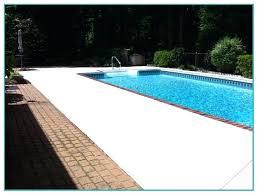 concrete paint carlislerccar club throughout pool decorations 15