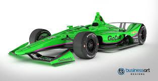 Indy 500 Car Design Indy 500 Danica Patrick Go Daddy Livery Design For Ed