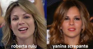 Guardando un pò in giro ho notato una certa somiglianza tra Yanina Screpante (fidanzata dell'attaccante del Napoli, Lavezzi) e Roberta Ruiu… - Somiglianza-tra-Roberta-Ruiu-e-Yanina-Screpante