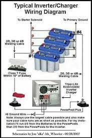 12 volt wiring diagram rv wiring diagrams 12 volt starter batteries wired in parallel rv solar systems heavy haulers resource