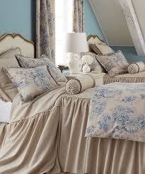 french blue toile bedding. Beautiful French Legacy Home Toile Duvet Cover On French Blue Bedding L