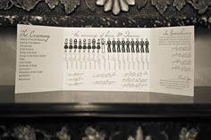 Wedding Programs on Pinterest | Ceremony Programs, Wedding ... via Relatably.com