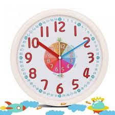 12 inch kid plastic wall clock baby nursery no glass large wall clock kids room clock