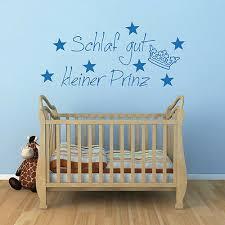 Wandtattoo Sprüche Baby Kinderzimmer Schlaf Gut Kleiner Prinz
