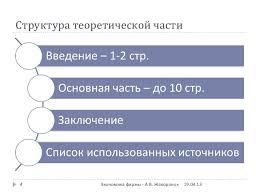 экономика фирмы курсовая работа ч old  4 Структура теоретической части4 Экономика фирмы