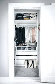 love this just ideal for a small apartment home inspiring minimalist walk in closets design ideas