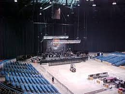 Nashville Municipal Auditorium Concert Set Up General