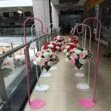 wedding flower ball wreaths metal stand open door decoration t stand se backdrop decor