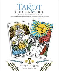Free printable tarot card meanings flashcards | word dynamo. The Tarot Coloring Book Reed Theresa Greer Mary 9781622037902 Amazon Com Books
