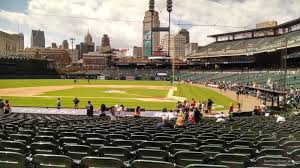 Detroit Tigers Seating Chart With Rows Exact Comerica Park Seating Chart View Seats Comerica Park
