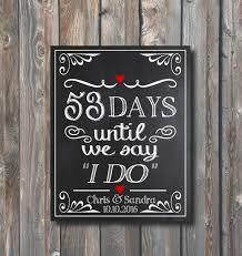 best 25 wedding countdown ideas on pinterest countdown specials Wedding Countdown Messages printable wedding countdown sign days until we say i do days until wedding Wedding Countdown Printable