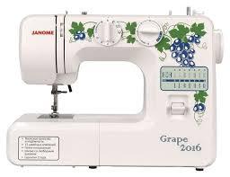 <b>Швейная машина Janome Grape</b> 2016 - отзывы покупателей на ...