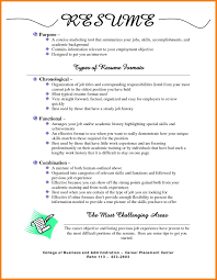 different types of resumes.different-resume-formats-11-type-a-resume-best- type-of-resumes-for-first.jpg