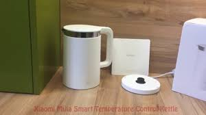 <b>Xiaomi Mijia</b> Smart Electric <b>Water</b> Kettle - YouTube