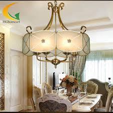 european american living room chandelier dining bedroom light chandelier copper lighting fixtures hall aisle lights
