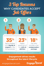 3 top reasons why candidates accept job offers