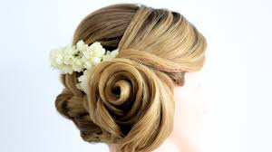 Flower Hair Style rose flower hairstyle step by step tutorial with braid hair art 1222 by wearticles.com