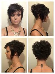 étonnant Coupe Cheveux Femme Court Derriere Long Devant