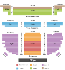 Riverpark Center Seating Chart Buy Waitress Tickets Seating Charts For Events Ticketsmarter