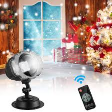 As Seen On Tv Window Wonderland Christmas Decoration Light Projector Amazon Com Holiday Snowfall Projector Lights Christmas