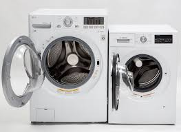 bosch compact washer. Modren Bosch The Fullsized LG WM3170CW Frontloader Left And The Bosch WAT28402UC To Compact Washer H