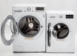 big washing machine. Fine Machine The Fullsized LG WM3170CW Frontloader Left And The Bosch WAT28402UC Inside Big Washing Machine T