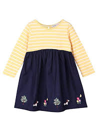 Beebay Size Chart Beebay Border Emb Yellow Stripe Body Dress Size 0 3 Months