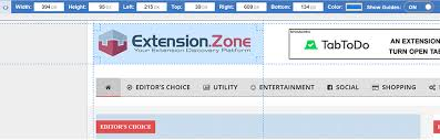 Page Ruler Measure Elements Extension Zone