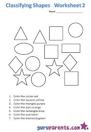 Free Math Printable Kindergarten Worksheets Shapes Worksheets for ...