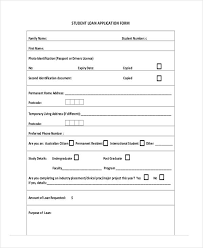Application Forms Sample 41 Sample Student Application Forms