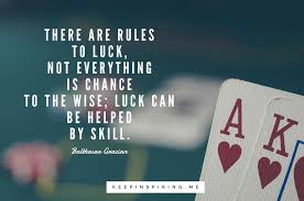 28 Quotes About Luck To Make You Feel Lucky