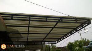 Hasil gambar untuk model kanopi bajaringan