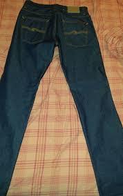 Nudie Slim Jim Size Chart Mens Nudie Jeans Blue Slim Jim 32 34 Nudiejeans Slimskinny