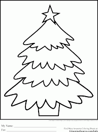 Christmas Tree Colouring Pictures To Printlll L