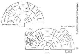 Jazz Band Seating Chart Band Seating Plans Nzcba