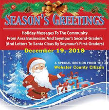 Free Christmas Greetings Free Christmas Greetings 2018 Tab In The Dec 19 Citizen Webster