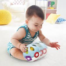 dels about move crawl baby ball rolling toys for newborn baby kids toddler birthday gift