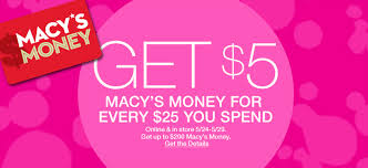 macy s money get 5 macy s money for every 25 you spend and in makeup