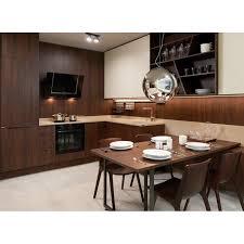 China L Shaped Modular Kitchen Designs Wooden Kitchen Cabinets Price