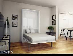 Convertible Desk Bed The Hover Single Vertical Wall Bed With Table Desk Expand
