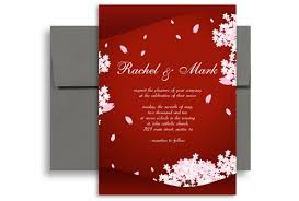 clic asian indian flower wedding invitation templates 5x7 in vertical