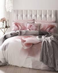 ted baker porcelain rose super king duvet cover pink and grey bedding bedroom inspiration