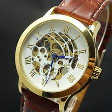 buy shippingwinner mechanical self winding watches men shippingmen s genuine self winding watch hollow mechanical watch fashion steel belt r scale mechanical watch male table