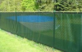Chain Link Fence Cover Privacy Decorative Fence Slats Can Add
