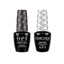 <b>OPI GelColor Base</b> Coat & Top Coat Pack (15ml) – Le Beauty