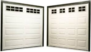 Modern Single Garage Doors Windows With Of Shown Left In Inspiration