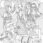 Coloring Pages Moana Mandala Disney Barbie Coloriage Noel