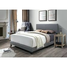 leather queen bed grey faux leather bed modern leather queen size storage bed frame